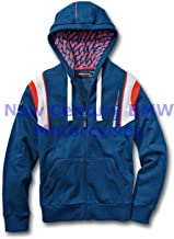 BMW Genuine Motorcycle Unisex Motorsport Hooded Jacket Blue/White/Red XXXL