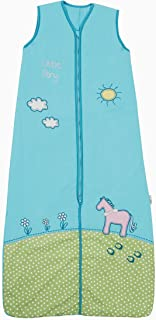 bamb/ú, sin forro, 0,2 tog, disponible en diferentes tama/ños y dise/ños unicornio Talla:90 cm Schlummersack Saco de dormir para beb/é