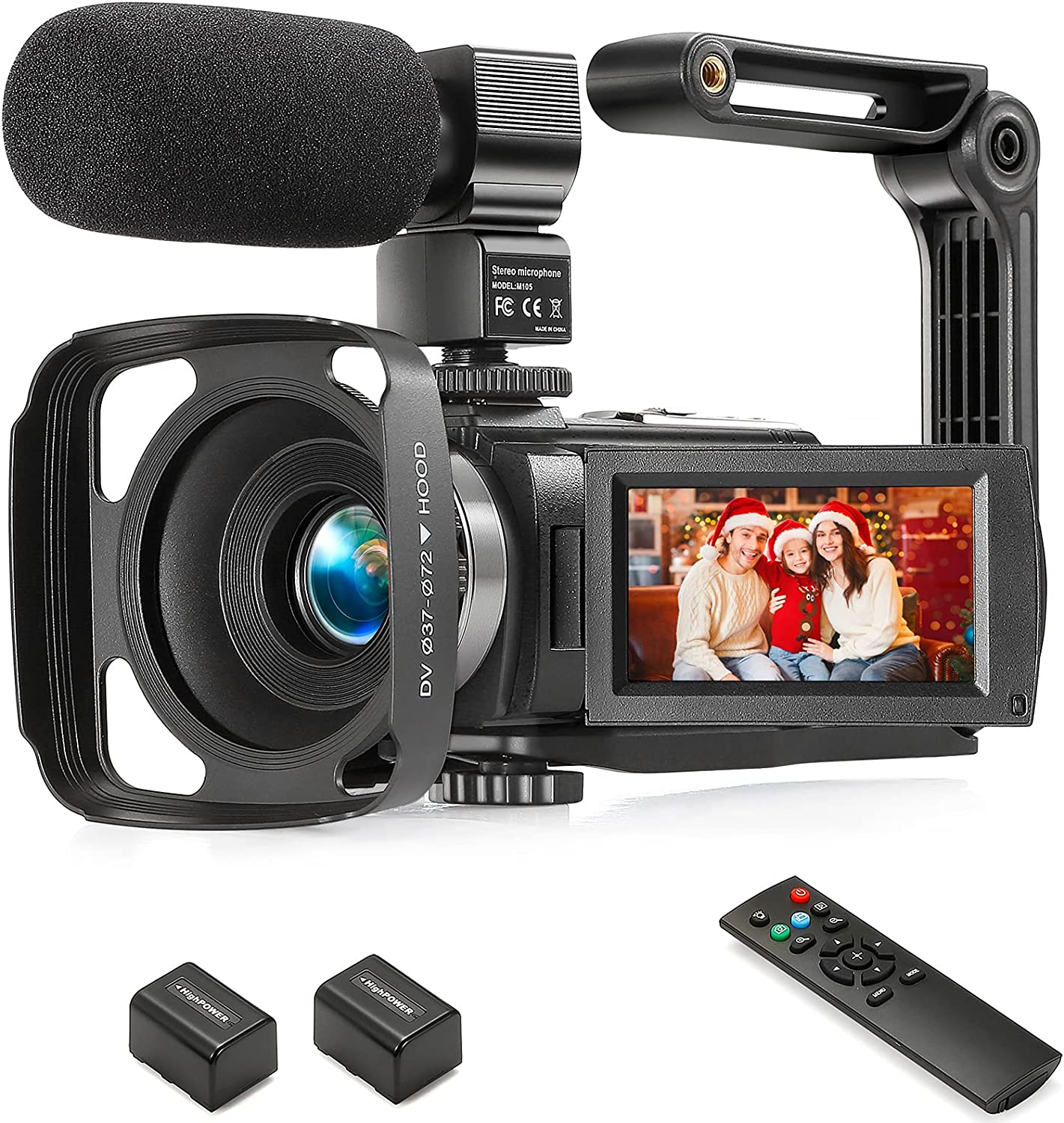 YEEHAO 1080p 36MP 16x Digital Zoom Video Camcorder $60 Coupon