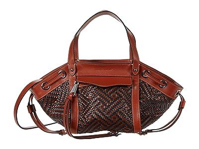 Rebecca Minkoff Mab Tote Crossbody (Acorn/Twilight) Handbags
