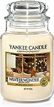 Yankee Candle vela aromática en tarro grande, maravilla invernal