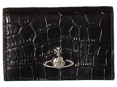 Vivienne Westwood Alex Card Holder (Black) Wallet Handbags