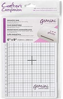 Crafter's Companion Gemini Junior Lot de 1 cale magnétique de rechange Blanc Taille unique