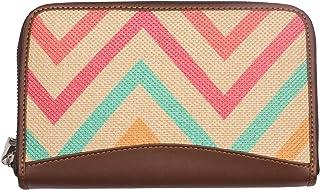 ZOUK Multicolored Fabric Women's Handmade Wallet (ZWB01-WB01)