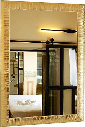 GaviaStore - Elise 70x50 cm - Miroir Mural Moderne Disponible en 3 Couleurs - ameublement Art déco Salon Mur Chambre ...