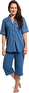 Fishers Finery Women's Tranquil Dreams Capri Pajama Set
