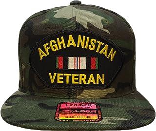 Afghanistan Veteran Hat Camo Ball Cap OG Snapback Style