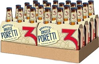 Birrificio Angelo Poretti Birra 3 Luppoli Non Filtrata -24 bottiglie da 330 ml