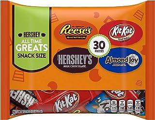 Hershey's & Reese's & Almond Joy & Kit Kat, Chocolate Candy Assortment Snack Size 30 pieces, 15.92 oz