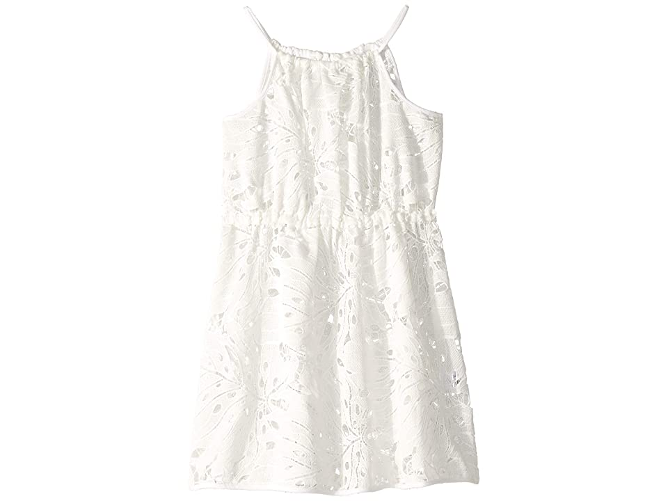Milly Minis Strappy Cover-Up (Big Kids) (White) Girl
