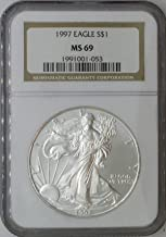 Best 1997 american eagle silver dollar Reviews