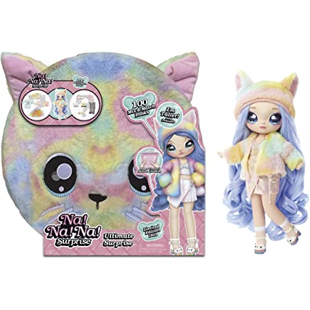 Na Na Na Surprise Ultimate Surprise Black Bunny w// New Taller Doll /& 100 Looks