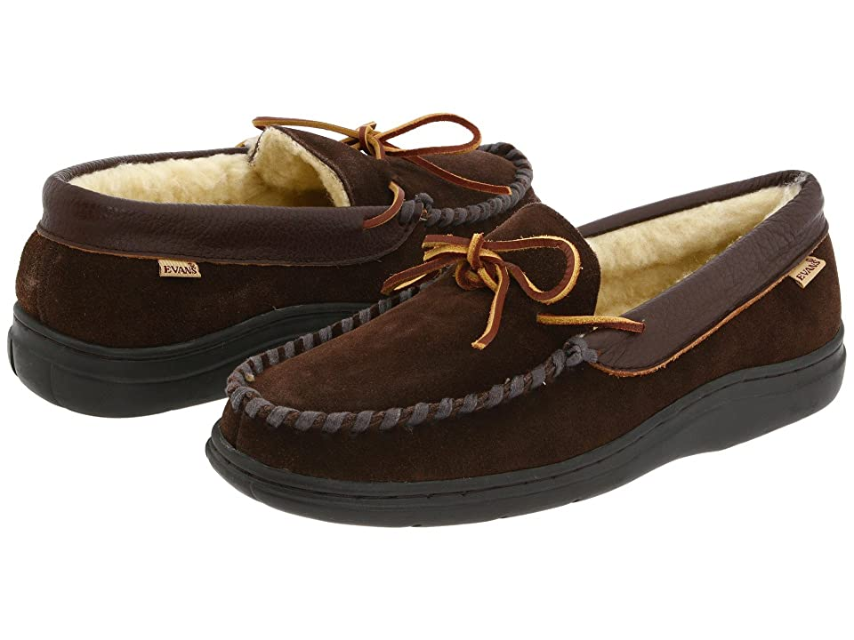 L.B. Evans Atlin (Chocolate Suede W/Sherpa Lining) Men