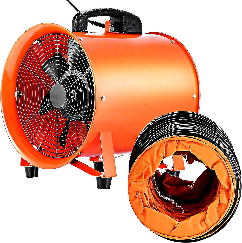 VEVOR Utility Blower Fan 10 Veloci Ventilator Trust Inch Popular overseas High Portable