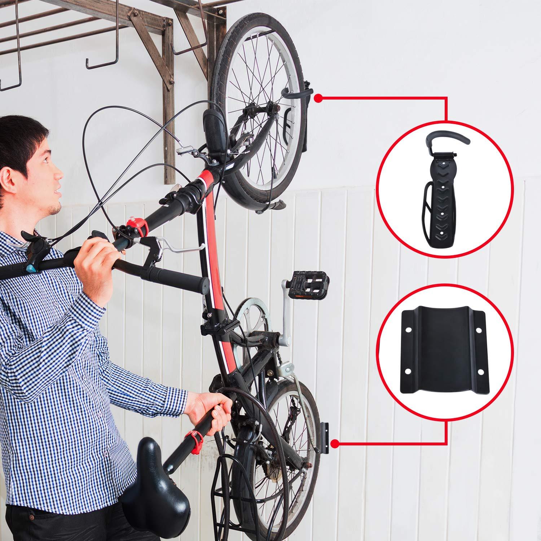 BYFIS Soporte para Colgar Bicicletas en la Pared. Colgador ...