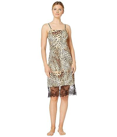 Natori Infinity Lace Trim Slip (Leopard Print) Women
