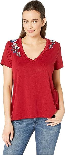 3018 Rayon Spandex Jersey T-Shirt