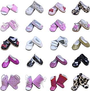 e935e48bf721d ZITA ELEMENT 5 Chaussures de Poupée pour Girl Doll 18 Pouces