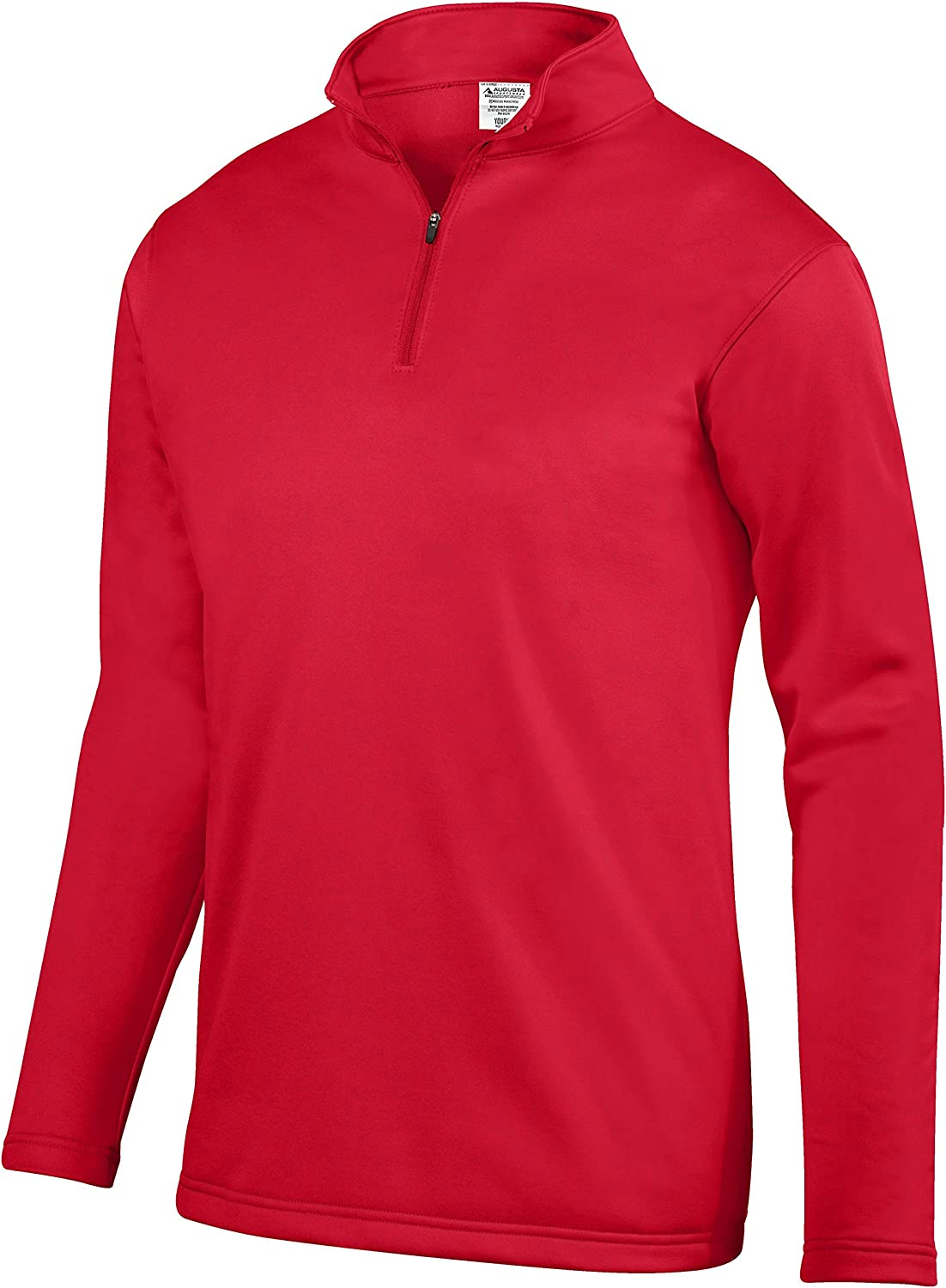 Wicking Fleece Pullover, Red, Small