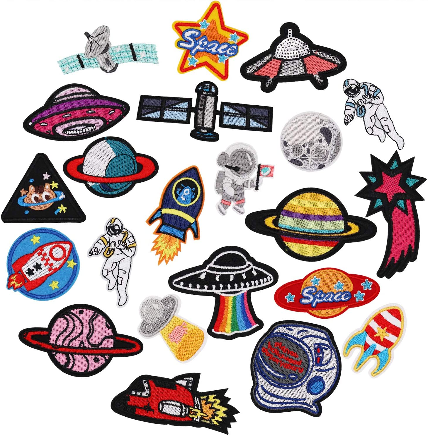 IRON ON Your own artwork 20 Custom Patches Up to 10 Colors