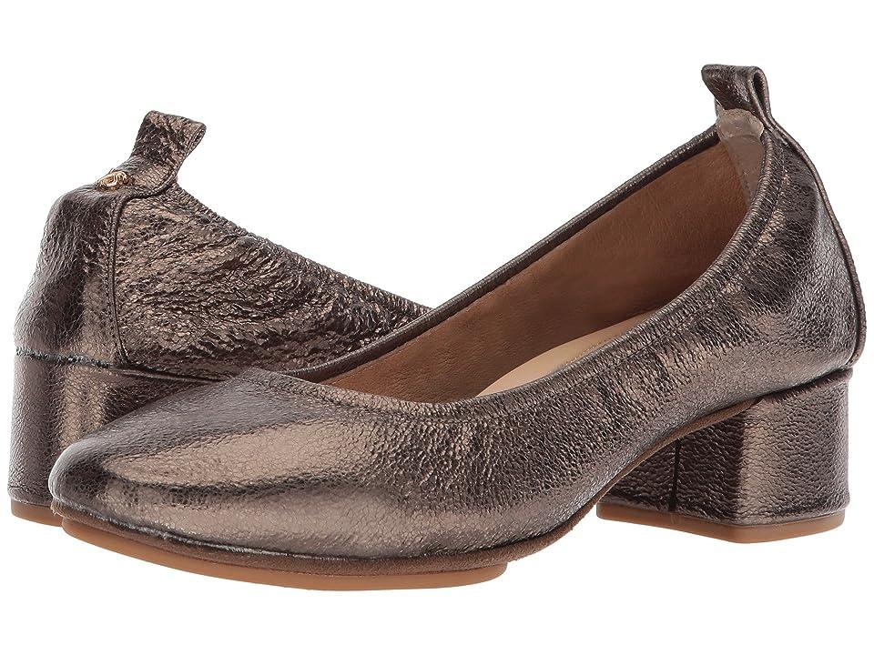Yosi Samra Nadia (Dark Gold Metallic Textured Leather) Women