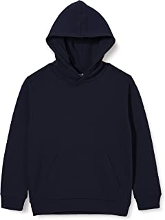 NAME IT Nkmthimo LS Boxy Swe WH UNB Camp Sudadera con Capucha para Niños