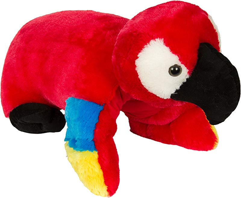 Pillow Chums Cracker The Parrot 15 Plush Toy Pillow