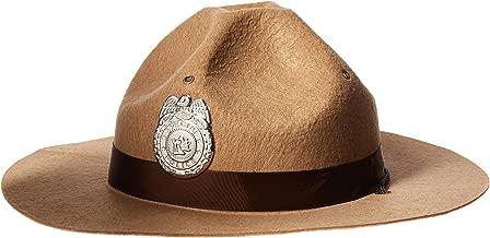 Amscan Sheriff Hat - Fun Costume Accessory