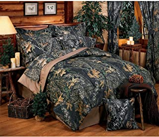 Mossy Oak Unisex New Break Up Twin Comforter Set Camouflage One Size