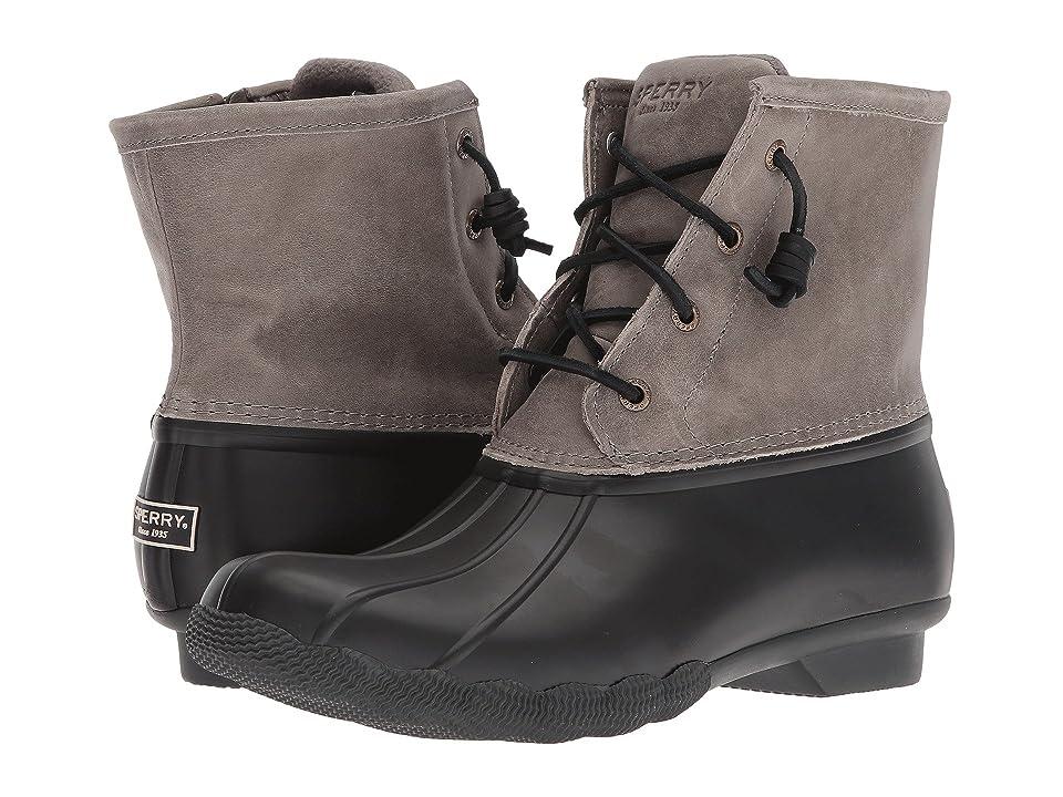 Sperry Saltwater Core (Black/Grey) Women