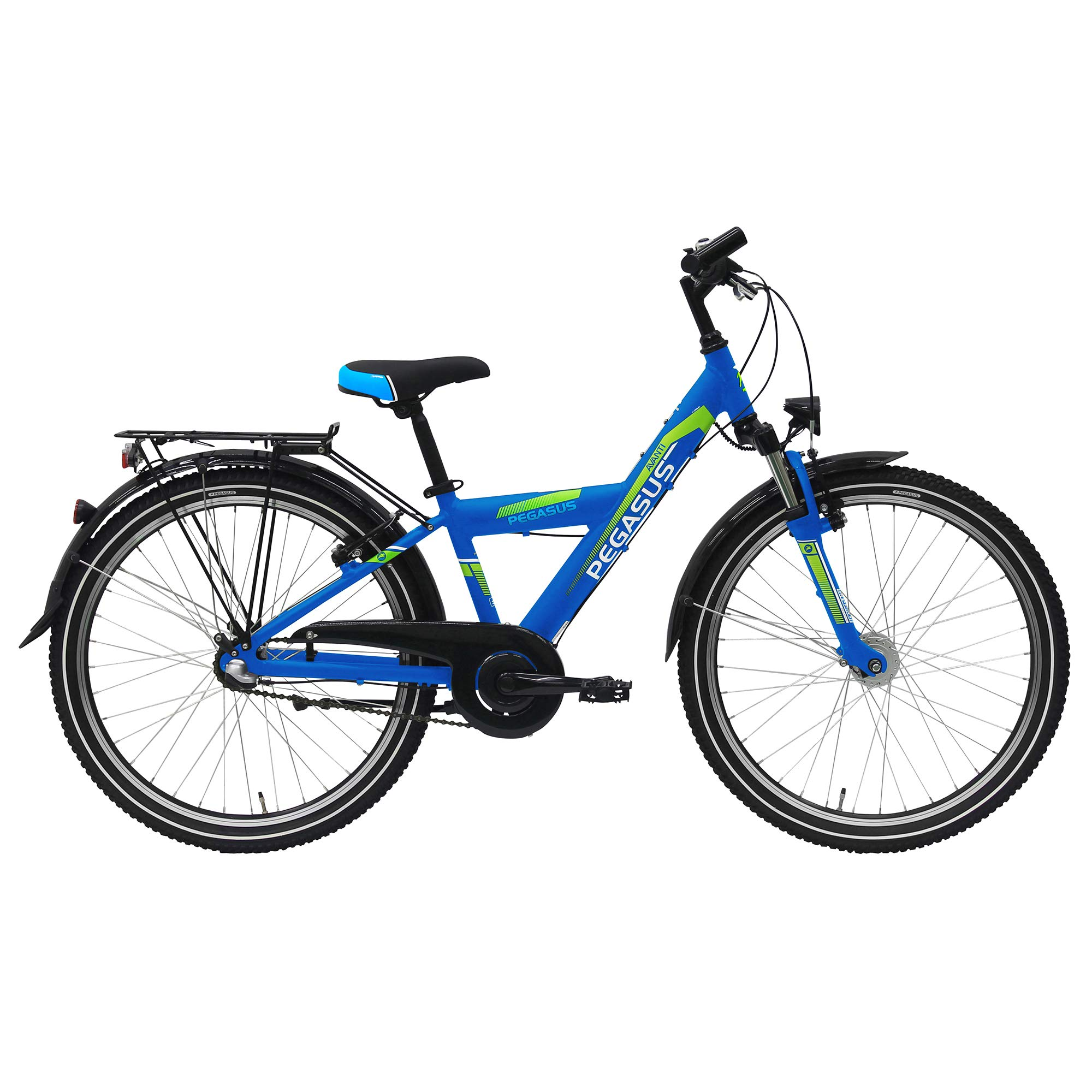 Pegasus Avanti 24 Niño bicicleta 3 marchas Shimano 24 pulgadas ...