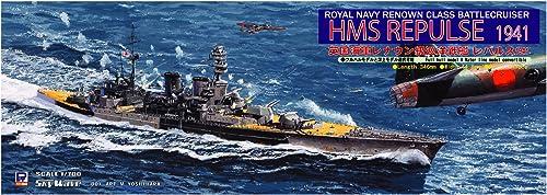 calidad oficial Battlecruiser Repulse 1941 Cruiser 1 1 1 700 Royal Navy Renown Class (W123) (japan import) by Pit road  el más barato