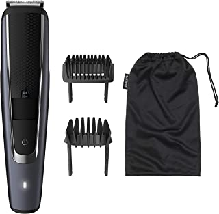 Philips Beardtrimmer Series 5000 Corded/Cordless Beard Trimmer with Lift & Trim PRO System, 0.2mm Precision Settings and 9...