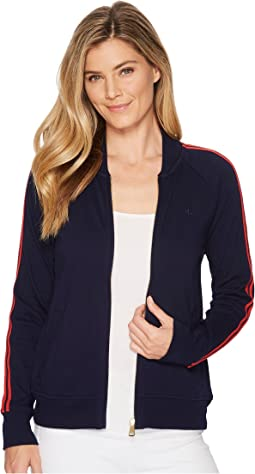 LAUREN Ralph Lauren Cotton French Terry Track Jacket