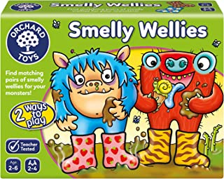 Orchard Toys Smelly Wellies Children's Game, Multi, One Size