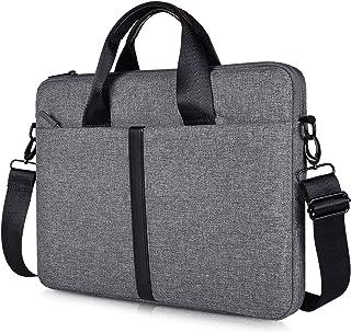 CaseBuy ノートパソコン ケース Macbook pro/Macbook air 13-13.3インチ pcケース 衝撃吸収 軽量 防水 パソコンバッグ スリム インナーバッグ 肩掛けPCケース 取っ手付 (スペース グレー)