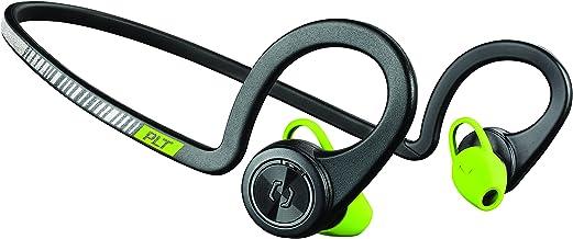 Plantronics BackBeat Fit - Auriculares deportivos inalámbricos, color negro