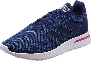 Adidas RUN70S, Women's Running Shoes, Blue (Legend Marine/Dark Blue/Real Magenta), 5 UK, (38 EU),F34340