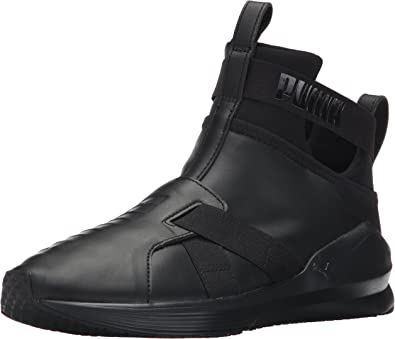 Amazon.com | PUMA Unisex-Adult Fierce Strap Leather Wn Sneaker ...
