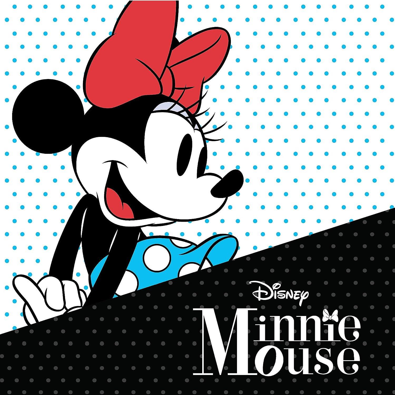 Disney Minnie Mouse 10K Gold Birthstone Stud Earrings,