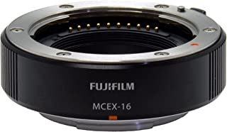 Fujifilm MCEX-16 Macro Extension Ring 16mm (compat.with X-Pro2 / X-Pro1 / X-T2 / X-T1 / X-T10 / X-T20 / X-E2S / X-E2 / X-E1 / X-M1 / X-A2 / X-A1)
