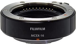 Fujifilm MCEX-16 Macro Extension Ring 16mm (compat.with X-Pro2 / X-Pro1 / X-T2 / X-T1 / X-T10 / X-T20 / X-E2S / X-E2 / X-E1 / X-M1 / X-A2 / X-A1)