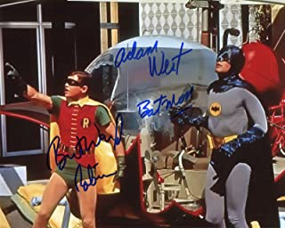 Adam West & Burt Ward Signed / Autographed Batman & Robin 8x10 Glossy Photo. Includes Fanexpo Fanexpo Certificate of Authenticity and Proof. Entertainment Autograph Original.