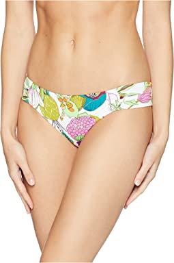 Trina Turk Key West Botanical Shirred Side Hipster