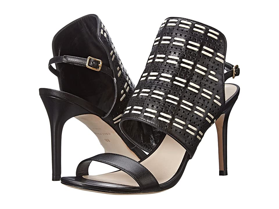 Cole Haan Arista Sandal (Black/Ivory) High Heels