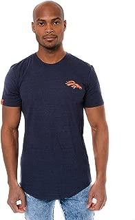 Ultra Game Men's NFL Slub Jersey Crew Neck Tee Shirt