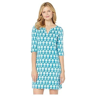 Hatley Lucy Dress (Shadow Flowers Blue) Women