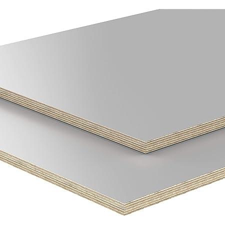 150x30 cm 12mm Multiplex Zuschnitt wei/ß melaminbeschichtet L/änge bis 200cm Multiplexplatten Zuschnitte Auswahl
