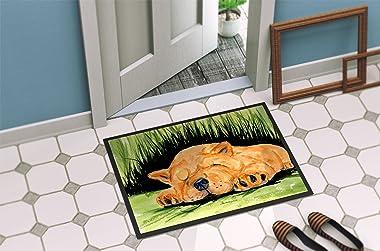 """Caroline's Treasures SS8526MAT Chow Chow Indoor Outdoor Doormat, 18"""" x 27"""", Multicolor"""