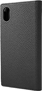 GRAMAS GLC-72448BLK 德国缩水小牛皮真皮书套,适用于 iPhone XS Max